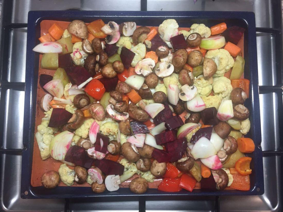 #Gemüse #Ofengemüse #vegan #vegetarisch #Babyledweaning #Beikost