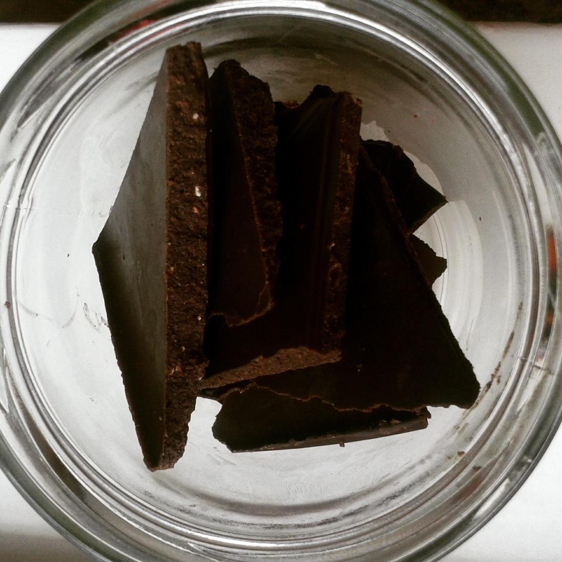 #Schokolade #zuckerfrei #vegan